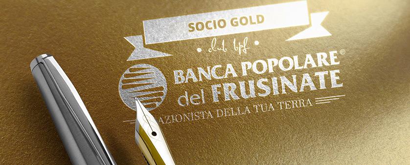 Conto corrente socio gold Bpf - Banca Popolare del Frusinate