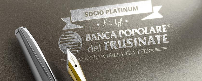 Conto corrente socio platinum Bpf - Banca Popolare del Frusinate